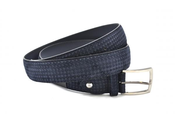 Floris van Bommel Belt 75200/77 Navy