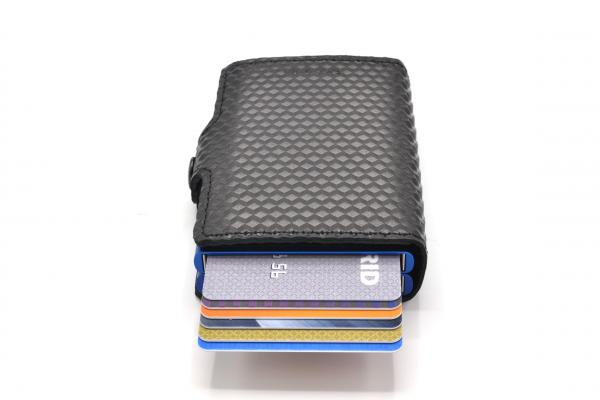 Secrid Twinwallet Cubic Black Blue